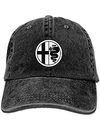 Alfa-Romeo Unisex Adult Baseball Cap Trucker Hat Cowboy Hat Hip Hop Sports Snapback