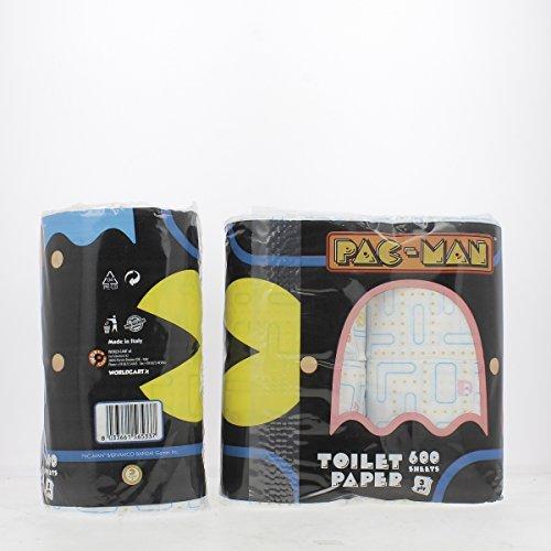 world-c-carta-igienica-4-rotoli-pacman-prodotti-per-il-bagno