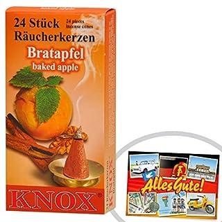 Knox Räucherkerzen Bratapfel 24 Stk.