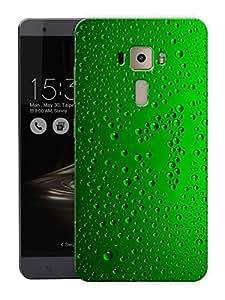 "Humor Gang Bubbles In GreenPrinted Designer Mobile Back Cover For ""Asus Zenfone 3 Laser"" (3D, Matte Finish, Premium Quality, Protective Snap On Slim Hard Phone Case, Multi Color)"