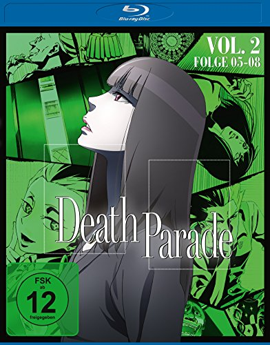 Death Parade Vol. 2 – Folge 05-08 [Blu-ray]