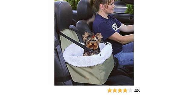 E Fast Auto Sitzerhöhung Reisekorb Für Hunde Katzen Schaffellfutter Mit Front Reißverschluss Haustier