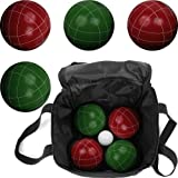 Full Size Bocce Ball Set : Trademark Games Bocce Ball Set with Carrying