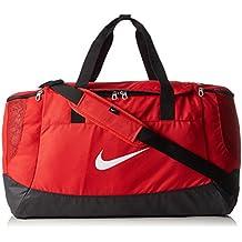 Nike Club Team Swoosh Duffel L Bolsa de deporte, 58 cm, liters, Rojo (Rot)