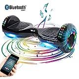 Windgoo 6.5 Pulgadas Hoverboard Eléctrico Scooter -Patinete 500W Monopatín Eléctrico Auto-Equilibrio Patín-con LED Luces Balancing