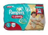 #7: Pampers Diaper Pants - Large (9 to 14 kg), 68 Pieces Pack