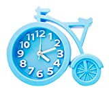 Alien Storehouse Kreative Fahrrad Geformte Wecker am Bett Wecker für Kinder/Studenten, BLAU