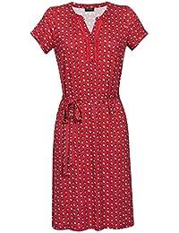 Vive Maria Fleur Rouge Dress Kleid rot Allover-Print