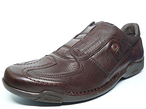 Fluchos , Chaussures de ville à lacets pour homme Marron