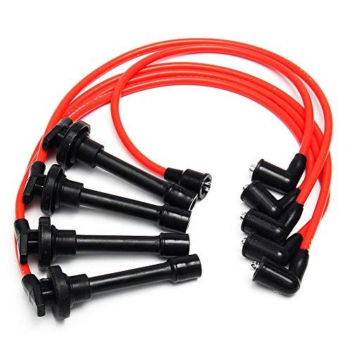 5pcs Spark Plug Wire Set For HONDA Accord for CIVIC DEL SOL 92-00 EG EK EJ D15/D16 HD9002 Auto Accessories