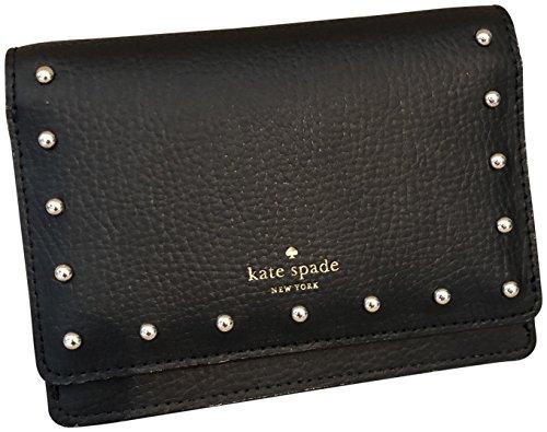 Kate Spade New York Dina Sanders Place - Portafoglio in pelle, colore: Nero