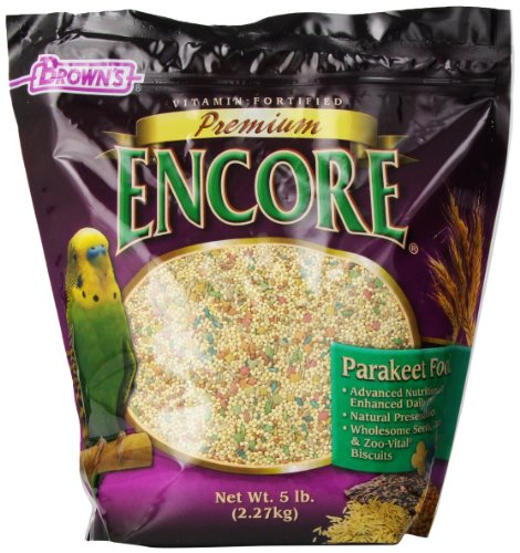 FM Brown 'S Encore Sittiche Lebensmitteln, 5-Pound (M Bird Brown Food F)