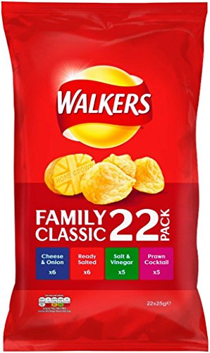 Produktbild Walkers Classic Variety Crisps 22 X 25G