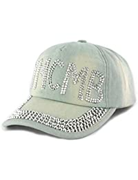 Casquette Baseball Ymcmb Jeans Clair - Femme
