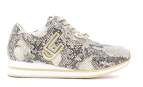 LIU JO Shoes Femmes - Sneaker S66067 E0331 - pitone grigio Grigio