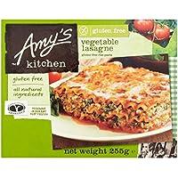 Amy's Kitchen Lasaña Vegan Sin Gluten 255g Sin Gluten congelado (Pack de 6)
