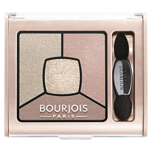 Bourjois Palette Ombretti Smoky Stories, 014 Tomber des Nudes - 3.2 gr