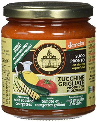 Terre Di Sangiorgio demeter Bio Tomatensauce mit gegrillter Zucchini, 290 ml