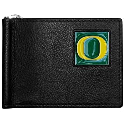 NCAA Oregon Ducks Leather Bill Clip Wallet