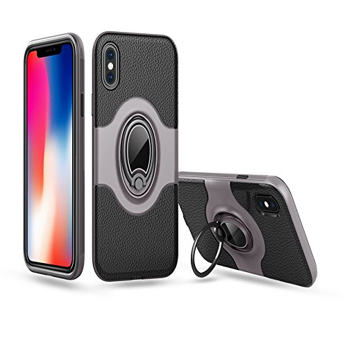 coque iphone x bague aimant