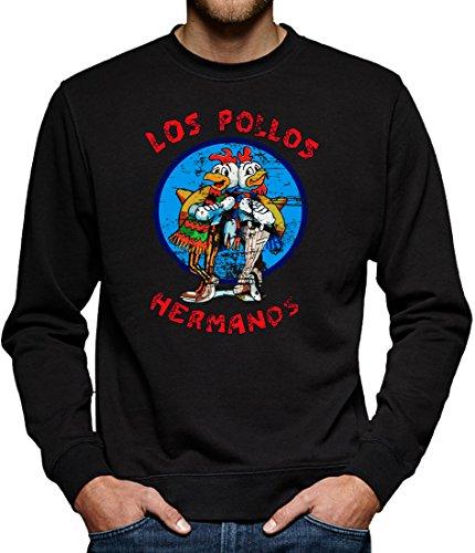 TLM Los Pollos Hermanos Sweatshirt Pullover Herren XXXXL Schwarz