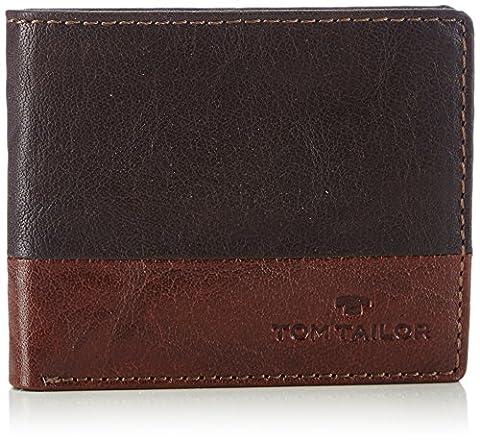 Tom Tailor Acc THEO 17300 Herren Geldbörsen 10x8x2 cm (B x H x T), Braun (braun 29)