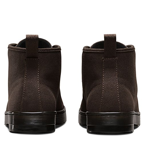 Dr.Martens Mens Coburg Waxy Canvas Boots Schwarz