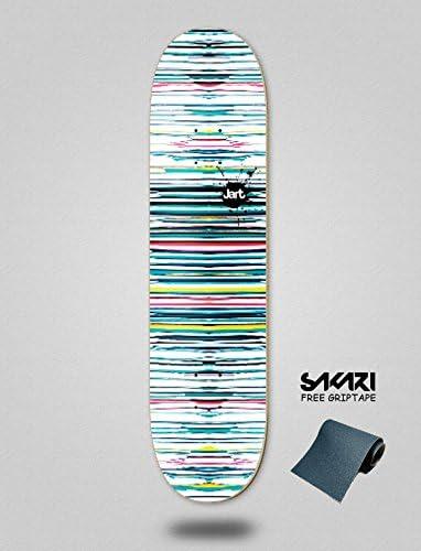 purchase cheap dd8ea dd588 Lordofbrands Monopatín Skate Skateboard Jart Splatter 8.0 HC Deck Deck Deck  B078Z19WFH Parent   promozione