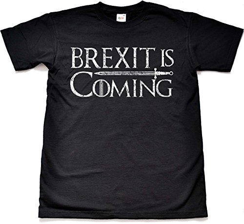 Teamzad Brexit is Coming Game of Democracy T Shirt