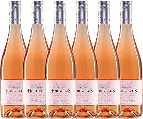 6er-Paket-Horgelus-Ros-IGP-2017-Domaine-Horgelus-Sommerwein-franzsischer-Rotwein-aus-der-Gascogne-6-x-075-Liter