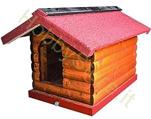 Vigor Blinky 79310-20 Petite niche en rondins pour chiens 57 x 80 x 60