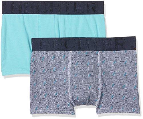 Hechter Studio Herren Panties Hh.Chic.Box, 2er Pack Blau (Marineblau / Blau)