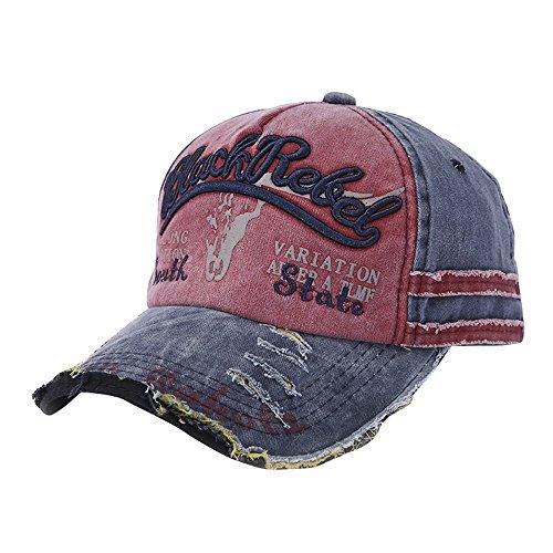 FRAUIT Damen/Herren Baseball Cap Sport Trucker Cap Hip-Hop-Hut Einstellbar Baseballcap mit Baumwolle | Basecap mit Markenstickerei | Cap mit Mesh-Einsatz | Schirmmütze Winter/Sommer | Truckercap