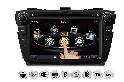 Preisvergleich Produktbild REALMEDIA FORD ECOSPORT Autoradio Touchscreen Android Naviceiver CD DVD USB SD WIFI 3D GPS Navigation TV Bluetooth Freisprecheinrichtung +++REALMEDIASHOP Garantie+++