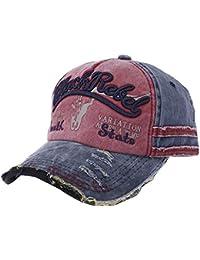 DEELIN Sombrero para Las Mujeres Hombres Blackrelel Carta De BéIsbol Gorra  Camionero Cap Deporte Snapback Hiphop d78984d56e9