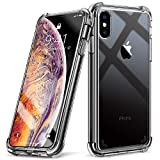 Beikell iPhone XS Max Case, Drop-Proof Anti-Scratch Crystal Clear Bumper Cover Case for iPhone XS Max - Thicken Soft Silicone Four Corner and Edge Shock-Absorption Design