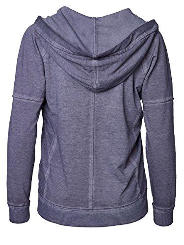 DAILY'S KENDRA Damen Sweatjacke mit Kapuze und Kängurutasche/Tasche vorne aus Baumwolle und Polyester - soziale fair trade Kleidung, Mode vegan und nachhaltig Color loft, Size S - 2