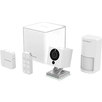 iSmart Alarm Essential Pack Sistema di Sicurezza Domestico Wireless Modulabile con App per iOS ed Android, Bianco