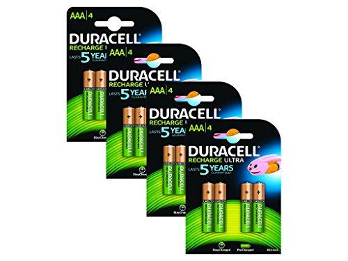 Duracell Wiederaufladbare Wiederaufladbar Ultra AAA Duracell Pre-charged Rechargeable