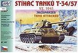 Modellbau Kunststoff Modellbausatz Militär SDV 1:87 H0 T-34/57 VZ. 1941 Jagdpanzer