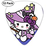 Hello Kitty Witch Guitar Picks Custom Fashion 12 Pack Picks para instrumentos musicales