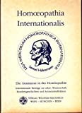 Homoeopathia Internationalis. Die Anamnese in der Homöopathie. 48. Kongress der Liga Medicorum Homoeopathica Internationalis, Wien 24.-28. April 1993. Krankengeschichten und Arzneimittelbildern