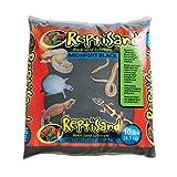 Zoo Med SM-10 Repti Sand Midnight, schwarz, 4.5 kg Terrariensand für Reptilien - Quarzsand ohne Zusatz von Farbstoffen