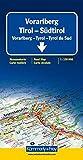 Kümmerly & Frey Karten, Vorarlberg, Tirol, Südtirol (Regional Maps - Austria)
