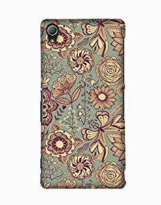 Pick Pattern Back Cover for Sony Xperia Z3