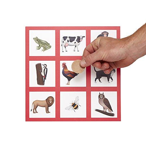 Bingo de Animales: Juego de bingo sonoro diseñado para personas ancianas con Demencia / Alzheimer's, por Active Minds®