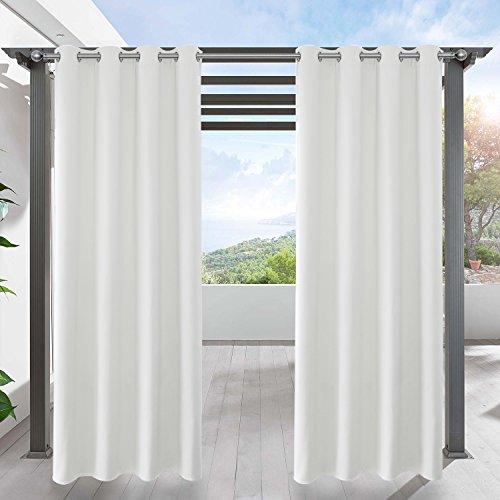 LIFONDER Blackout Outdoor Vorhang Panel-1Stück Modern 52