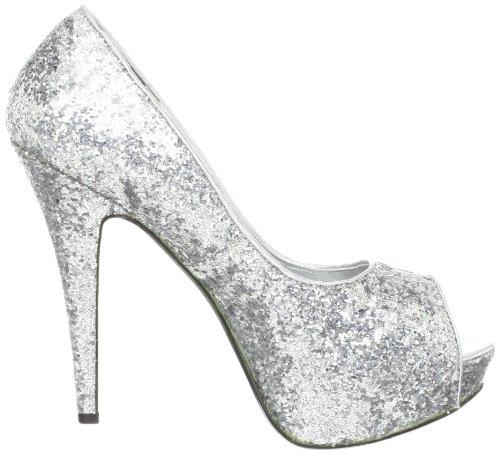 à Slv Funtasma Argent Glitter Chaussures talons femme 75PqSPw