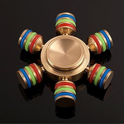 Fidget Spinner, Sportfun Fidget Toys Hand Spinner Finger Spielzeug für Kinder und Erwachsene Spielzeug Geschenke