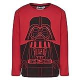 Lego Wear Jungen Langarmshirt Boy Star Wars CM-73424, Rot (Red 365), 116